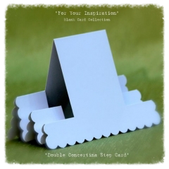double concertina step card