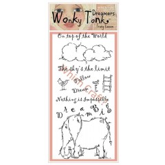 which craft? dl stamp set wonky tonk dreamers - dream big