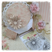 baby handbag  & handbag card with circles