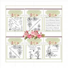 crafty corners collection 40 stamps