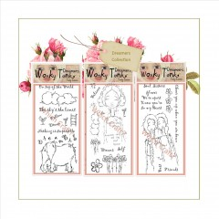 which craft? dl stamp sets wonky tonk dreamers - dream big, soul sisters & day dreamer