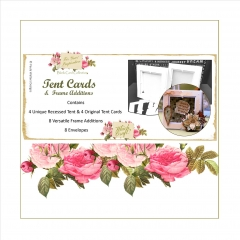 tent recessed card and original tent card combi