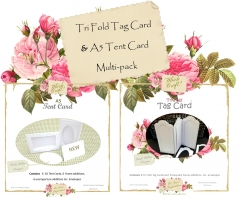 fyi tri fold tag & a5 tent card multi-pack