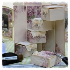 treasure box template 'square'