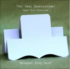 elegant step card